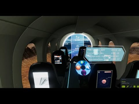 Hyperloop VR Experience - Exhibited in Shanghai Urban Space Art Season 2017