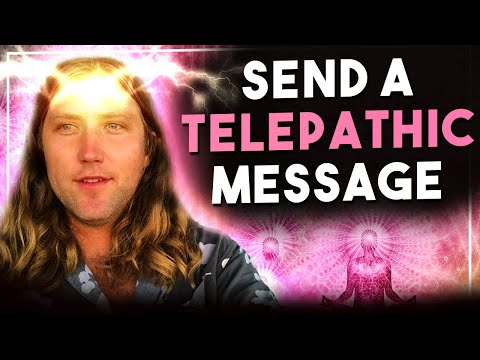 FAST RESULT ✅ Send A TELEPATHIC Message To Anyone And Get Fast Results- Law Of Attraction