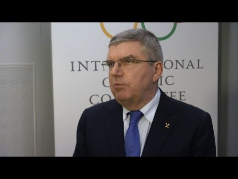 Russia Olympic ban: Bach hopes 'line drawn' under 'sad period'