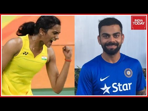 Virat Kohli Wishes P.V. Sindhu For Her Olympic Finals