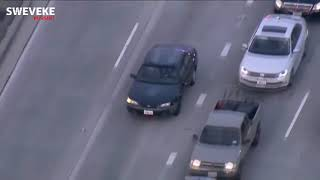 64 Mins and 11 Seconds of INTENSE California Police Chase