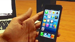 How to unlock iPhone 5 From Fido