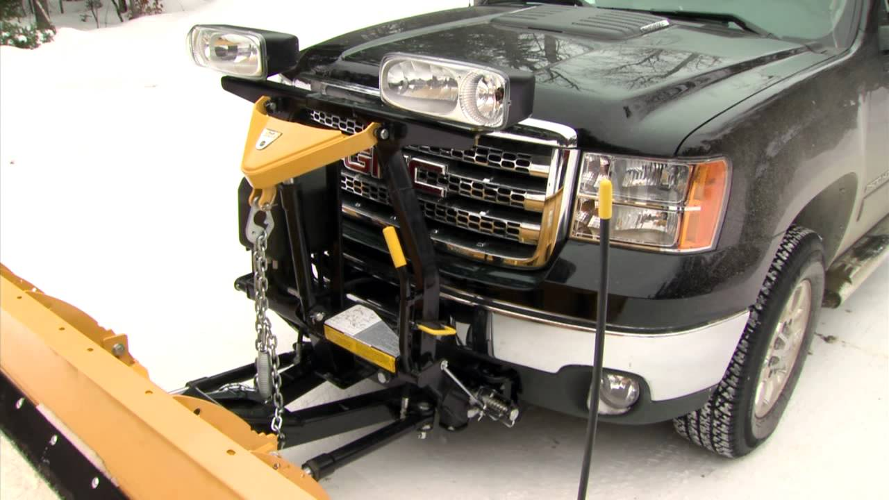 Fisher Snowplows - Minute Mount 2 - YouTube