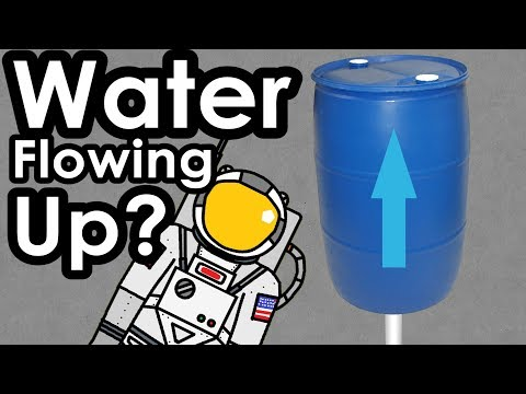 Will water flow up a pipe?