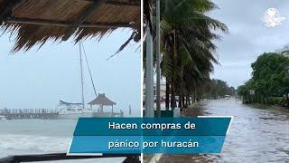 Alerta roja en Cancún ante el huracán Delta
