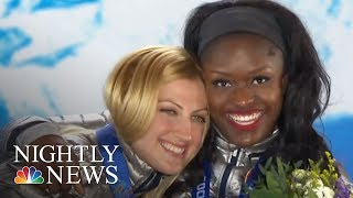 After Winning Bronze In Sochi, Aja Evans Chasing Gold In PyeongChang   NBC Nightly News
