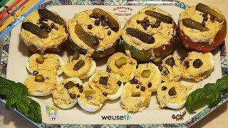 141 - Pomodori e uova ripieni...ce l'han chiesti anche l'alieni!(ricetta deliziosa facile e leggera)