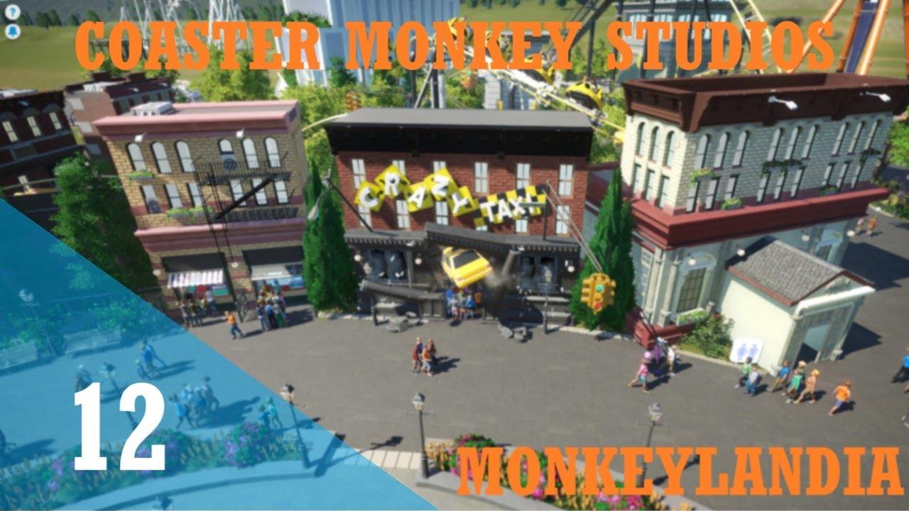 Download Lets Play Planet Coaster | Monkeylandia | Episode 12 | Crazy Buildings