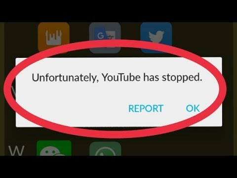 How To Fix YouTube Unfortunately Has Stopped Problem Solve