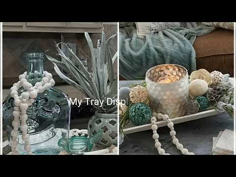 MY TRAY DISPLAY COLLABORATION/FARMHOUSE STYLE  Hosted by At Home with Zane