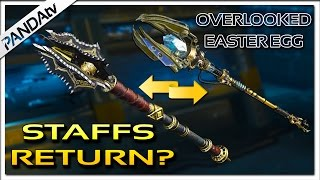 POSSIBLE OVERLOOKED EASTER EGG| ORIGINS STAFFS in DLC 4? | Skull Splitter Theory