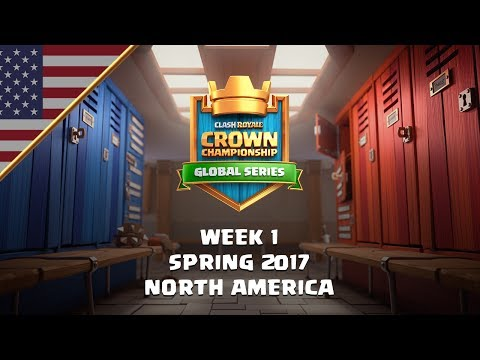 Clash Royale: Crown Championship Top 8 (NA, Week One) - Crown Championship