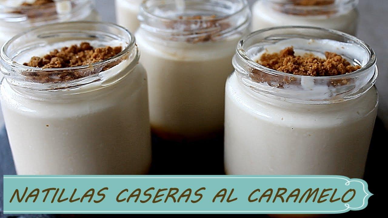LAS MEJORES NATILLAS CASERAS AL CARAMELO, TE VAN A ENCANTAR!!