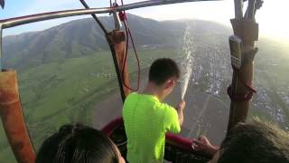 полёт воздушного шара Сердце 07-05-2015 by AeroCam
