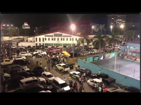 Experience Accra Sports Stadium At Night..