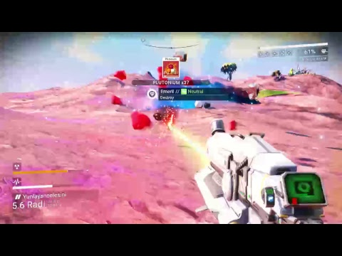 No mans sky 1.38 Ice Planet(2nd) 17 hours in. Class A Rifle +  Class B Fighter -Survival mode