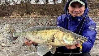 Рыбалка в марте на спиннинг Уже ПРЕДНЕРЕСТОВЫЙ ЖОР Обрыбил Major Craft Soul Stick