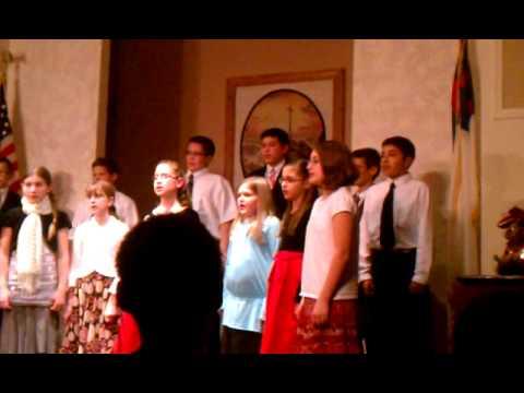 Utica Christian School 4-6 grades song