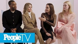 Angelina Jolie Teases 'New Tribe' In Maleficent: Mistress of Evil | PeopleTV | Entertainment Weekly
