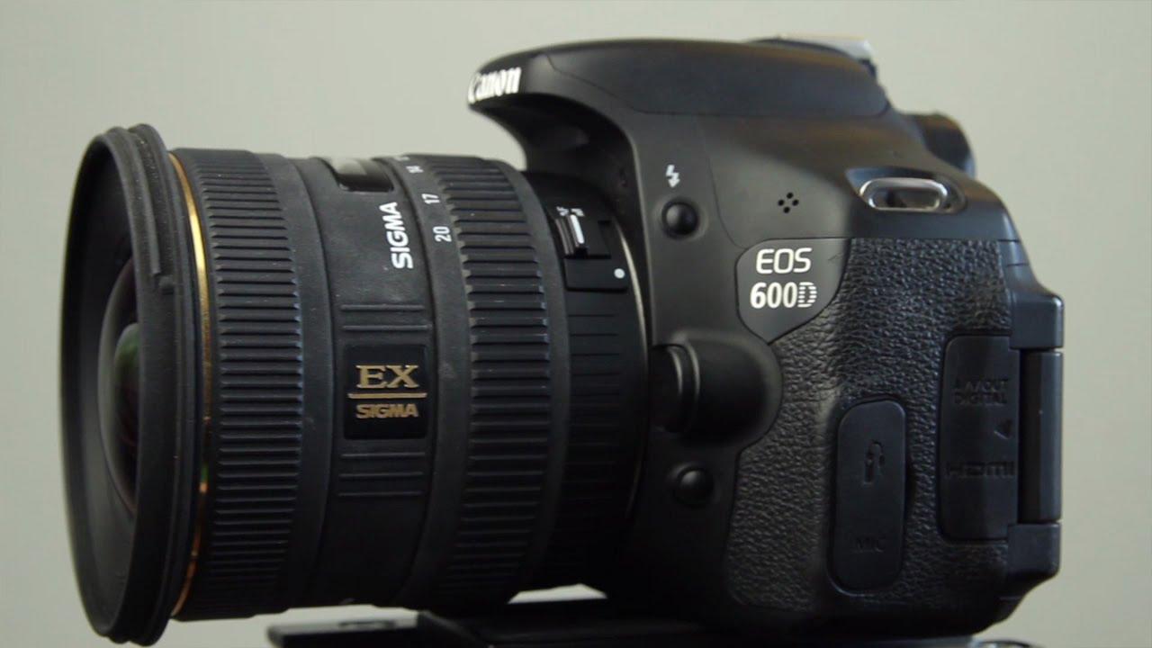 Analoge Fotografie Sigma Ex 10-20mm 1:4-5.6 Dc Hsm FÜr Canon Analogkameras