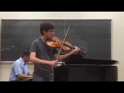 Stamitz Viola Concerto, mvt.  I