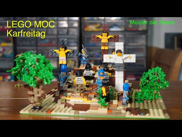 Karfreitag, Lego MOC, Meister der Steine