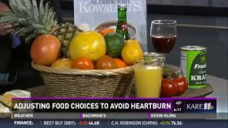 Adjusting Foods to Avoid Heartburn (2/10/17 on KARE 11)