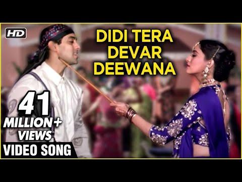 Didi Tera Devar Deewana (HD) | Hum Aapke Hain Koun | Lata & SPB Duet | Best Romantic Song