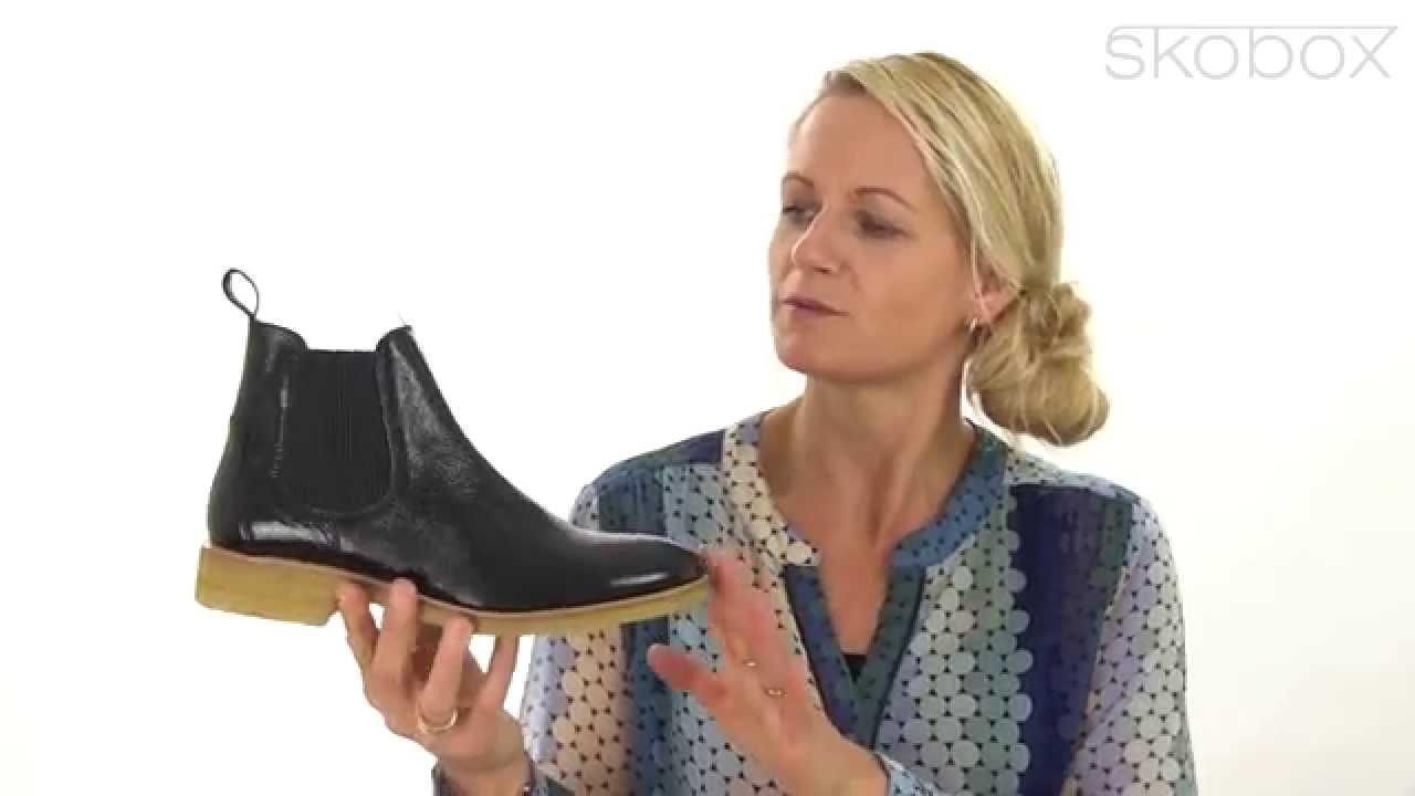 90f7035d00 Skobox - Smart Angulus støvlet i sort lak - Køb Angulus Støvler ...