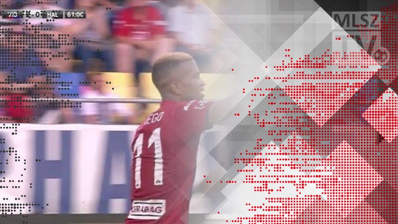 Nego Loic gólja a Videoton FC - Swietelsky Haladás mérkőzésen