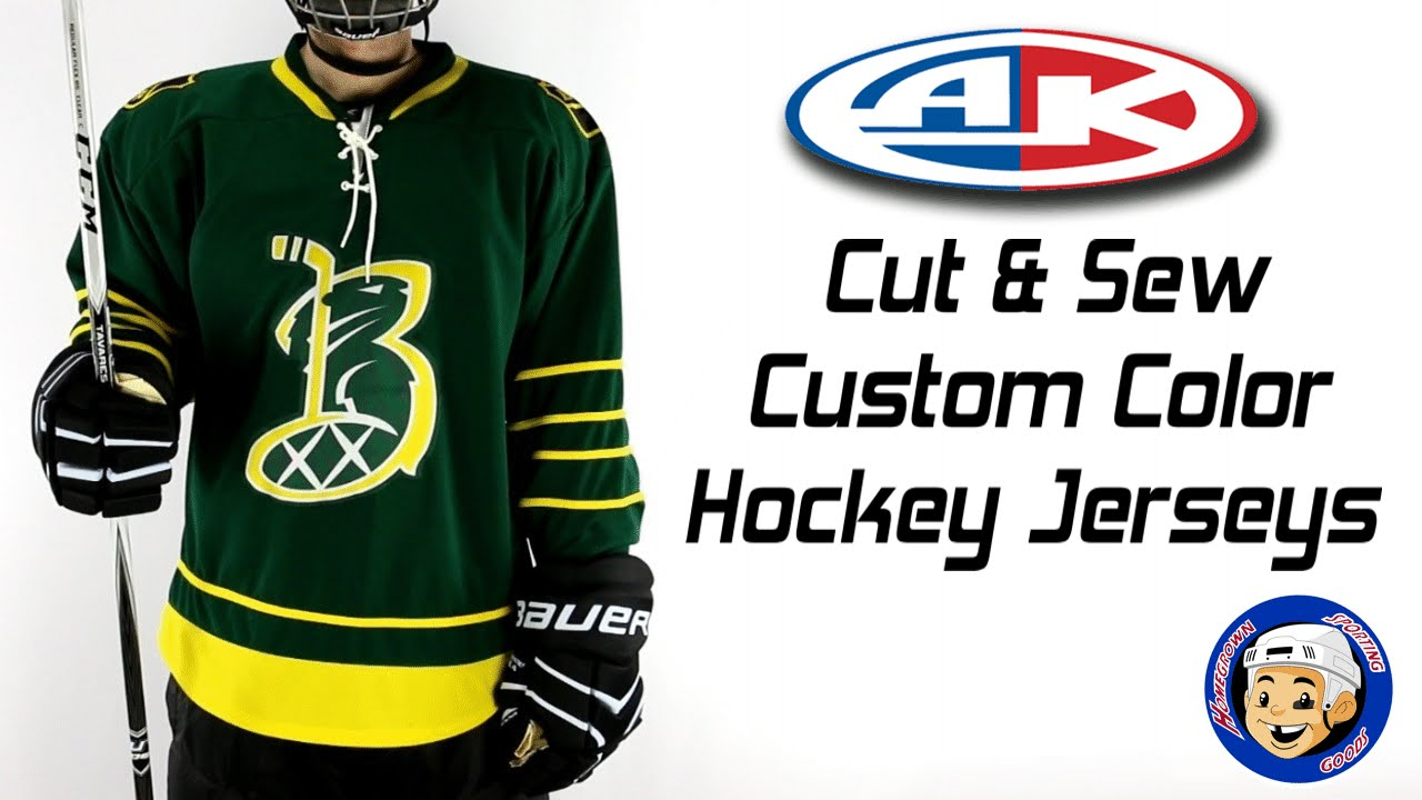 Athletic Knit Hockey Jerseys : Custom Hockey Jerseys Athletic Knit Custom Cut & Sew - Homegrown Sporti...