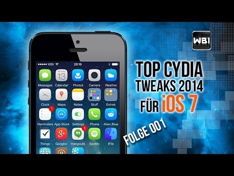 Top Cydia Tweaks 2014 - Folge 001 (iOS 7 & Deutsch)