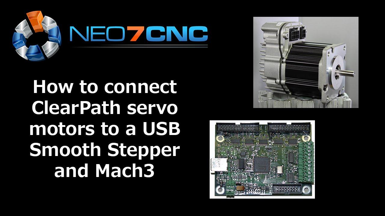 Setup USB Smooth Stepper with ClearPath Servo - Neo7CNC com