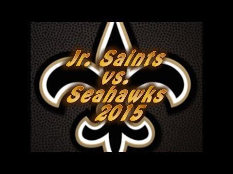 Jr. Saints vs. the Seahawks Game 1