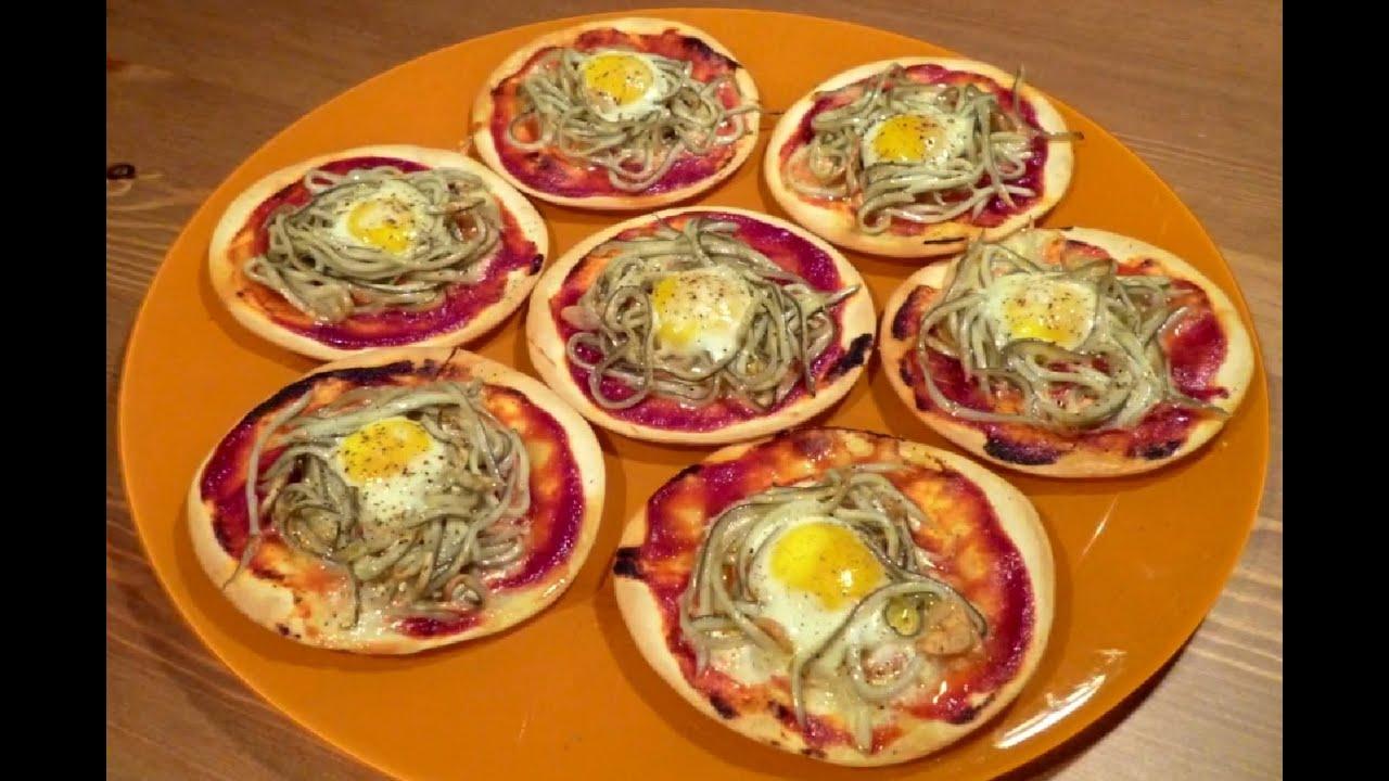 Aperitivos f ciles mini pizzas de gulas con obleas de - Platos originales y faciles de hacer ...