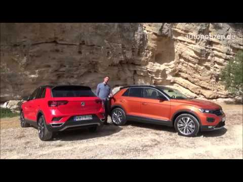 vw t roc 2 0tdi 150 ps style 2017 2018 fahrbericht review. Black Bedroom Furniture Sets. Home Design Ideas