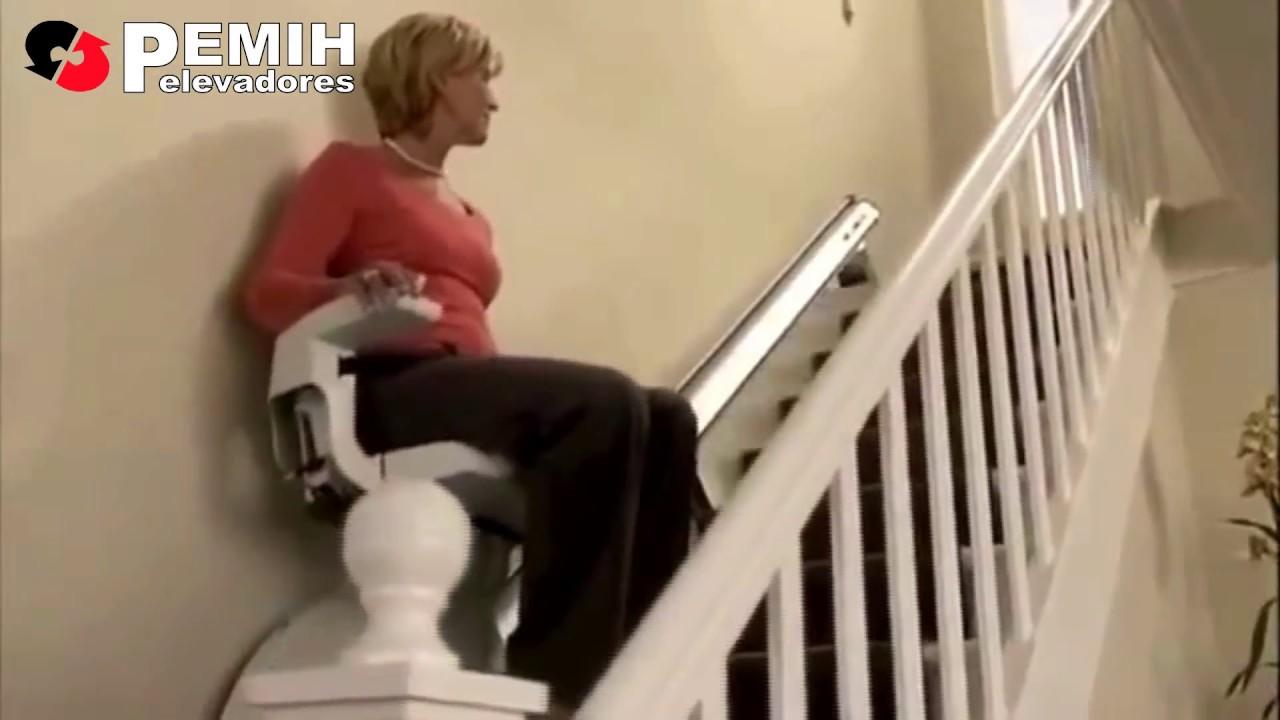 Salvaescaleras Silla Salvaescaleras Para Escaleras Rectas