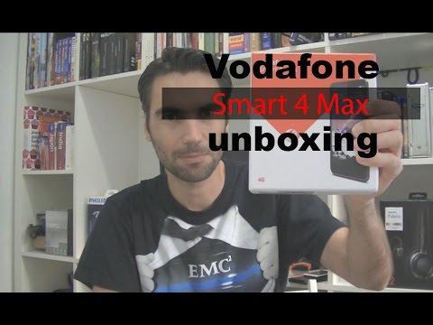 Vodafone Smart 4 Max unboxing (en español)