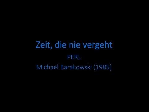 Zeit, die nie vergeht (Text) - PERL
