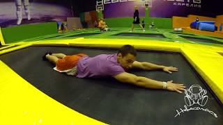 Прыжок на живот
