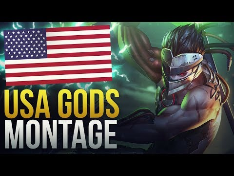 GODS OF USA - Overwatch Montage thumbnail
