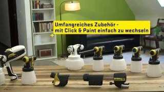 Wagner Flexio 585 Anwendung Deutsch