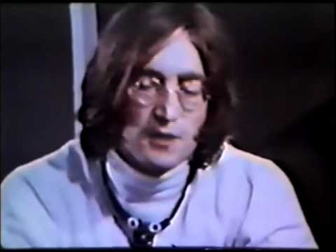 John Lennon Talks About 'In His Own Write' At The National Theatre In 1968