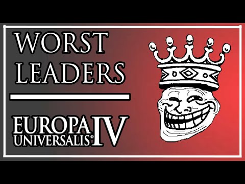 Top 10 WORST starting rulers in EU4 1.30 Emperor |