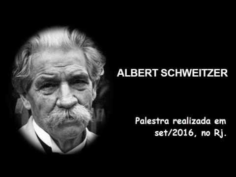 Palestra: Vida e Obra de Albert Schweitzer