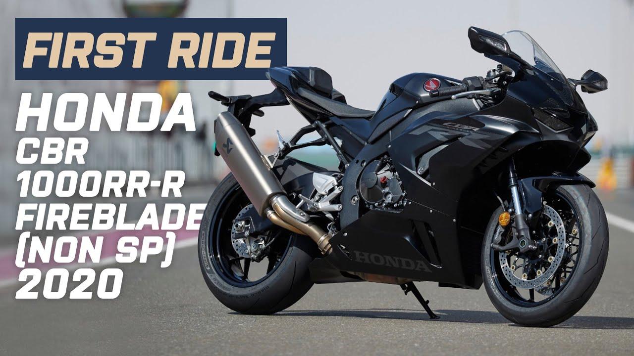 New 2020 Honda CBR1000RR-R Fireblade (Non SP) First Ride 2020 Review | Visordown.com