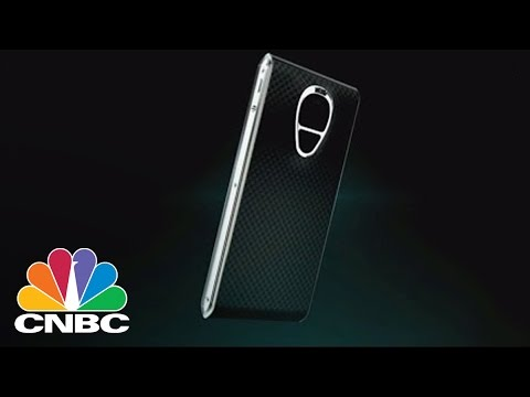 High-Security Luxury Smartphone Selling For $14K: Bottom Line | CNBC