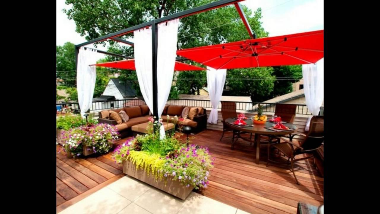 Decoraci n de terrazas en madera ideas de xito youtube - Decoracion para terrazas exteriores ...
