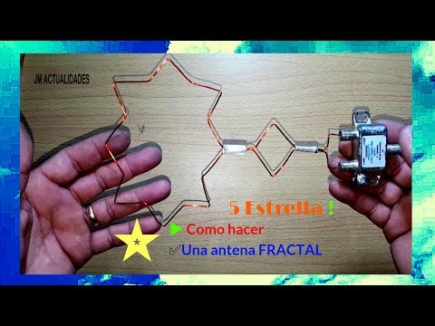 5-star⭐-how-to-make-a-multiband-fractal❇️-antenna-➕-splitter-for-tv