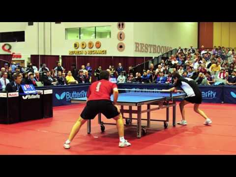 2010 US National Table Tennis Championships Men's SemiFinal Peter Li vs Ilija Lupulesku